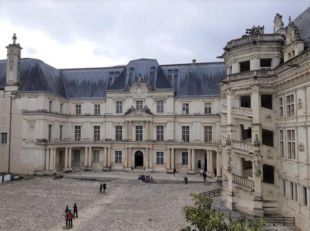 C'est en partie au Château royal de Blois que grandissent les enfants royaux - DR : A.B.