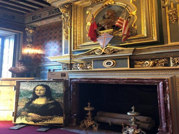 Un tableau de La Joconde, à faire pâlir de jalousie Léonard de Vinci… - DR
