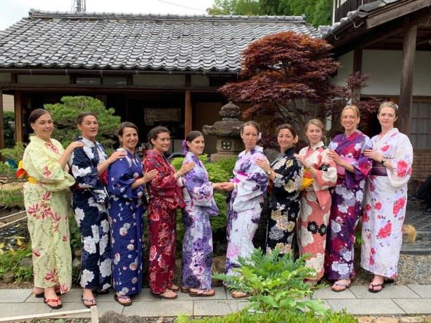 A cette occasion, NHK, la grande chaîne de télévision publique, a recueilli sur place les impressions des voyageuses qui se sont retrouvées au cœur d'un reportage diffusé dans le journal de 20h ! - DR