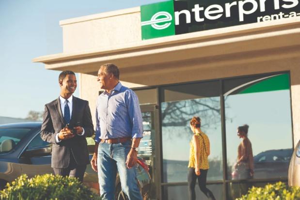 L'agence Enterprise de Saint-Brieuc a ouvert ses portes fin mai du côté de la gare. - DR