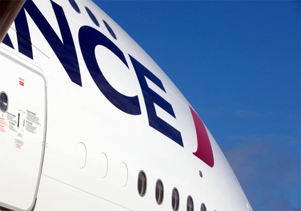 Air France sera la première impactée par la mise en place d'une telle taxe, qui représenterait pour elle un surcoût de 60 millions d'euros par an ©AF