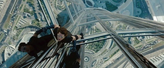 Dans le film, Tom Cruise escalade la plus haute tour du monde à Dubaï - Photo DR