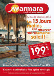 Marmara : séjours en Tunisie à partir de 199€ TTC la semaine