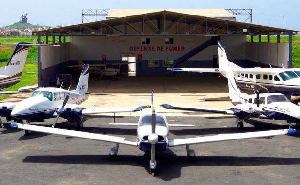 Arc en Ciel une flotte de 6 avions de 5 à 19 sièges (7 prochainement), avec comme activités principales l'aviation d'affaire, les évacuations sanitaires, le fret urgent et l'avion taxi.- DR