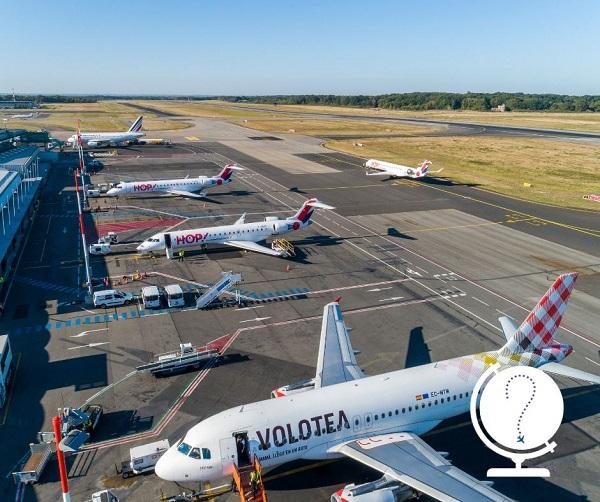 Vinci Airports a enregistré une forte hausse du trafic au 2e trimestre 2019 - Crédit photo : Aéorports de Nantes
