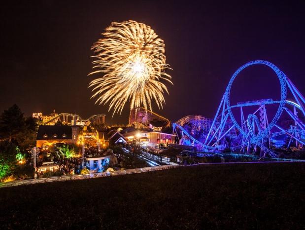 Pour clôturer la « Soirée estivale », un feu d'artifice aura lieu à 23h - DR : Europa-Park