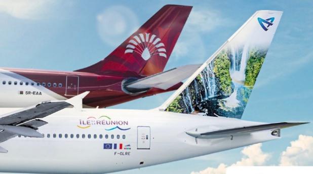 Un des enjeux d'Air Austral est de redresser son partenaire indispensable à sa réussite (Air Madagascar), mais qui va sauver Air Austral ?- Crédit photo : Air Austral