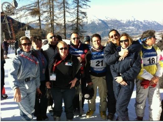 Pas moins de 250 professionnels du tourisme avaient fait le déplacement aux Orres pour la 1ère édition de TouriSki aux Orres dans les Alpes du Sud,