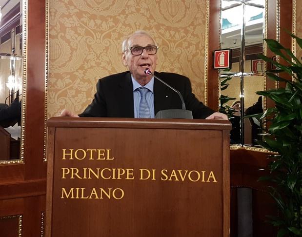 Jean Korcia, président de Manor lors des Journées des dirigeants il y a deux ans à Milan - DR