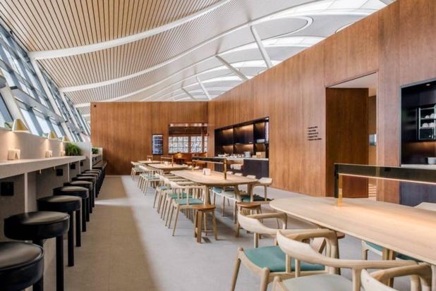 Cathay Pacific ré-ouvre son salon à l'aéroport de Shanghai Pudong - DR