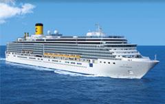Comme prévu, le Costa Deliziosa a pu repartir vers le port de Savone, en Italie - Photo Costa Croisières