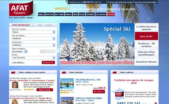 Afat Voyages : le multicanal à l'honneur du nouveau site Internet
