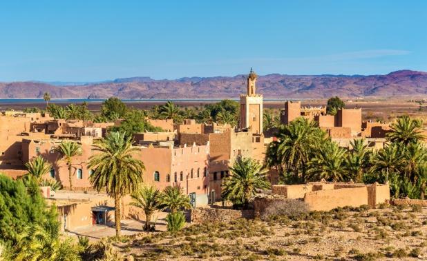Ouarzazate est surnommée la porte du désert - LeonidAndronov