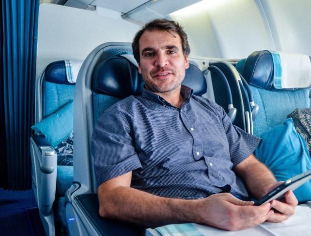 Edmond Richard est devenu l'un des 2 directeurs généraux délégués d'Air Caraïbes © DR