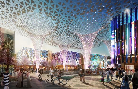 Exposition universelle de Dubaï 2020 - DR