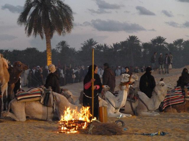 A Tozeur les oasis se fêtent en décembre - Photo MS