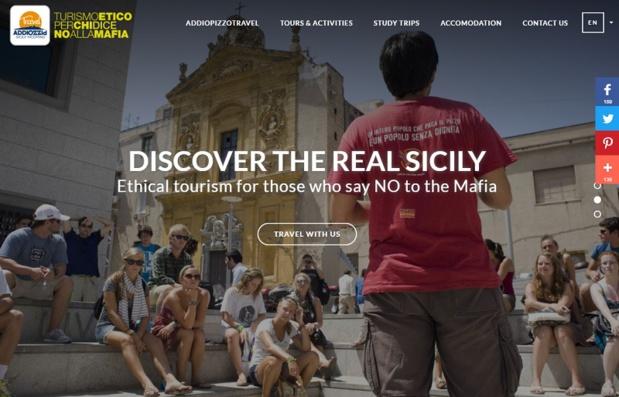 Ceux qui choisissent Addio Pizzo Travel choisissent des structures d'hébergement certifiées par Addiopizzo et voyagent à 100% sans pizzo - DR