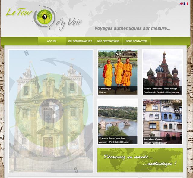 Fondé en octobre 2011, Le Tour d'Y Voir invite à partir à la découverte des produits du terroir français et des cultures étrangères - Letourdyvoir.com