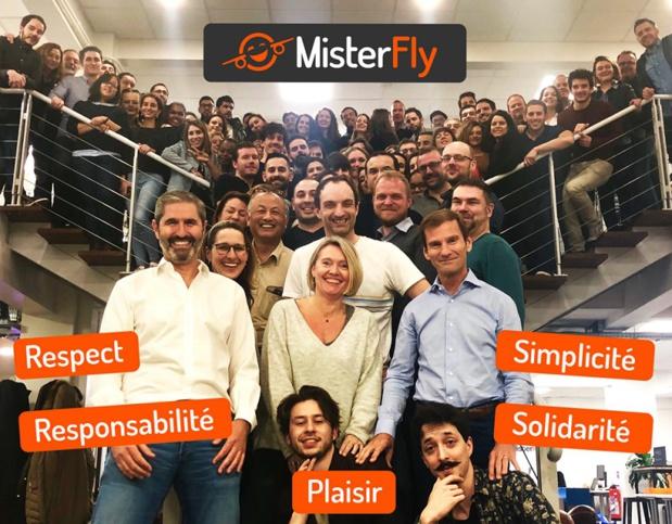 """""""MisterFly est devenu le 2ème émetteur de billets d'avion en France parmi les agences de voyages en ligne"""" - Photo DR"""