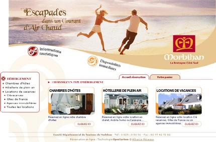 Morbihan : le CDT lance une plateforme de réservation en ligne