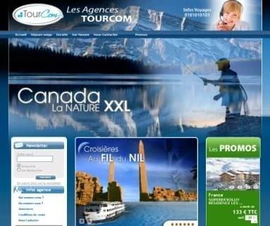 """140 agences TourCom ont lancé leur site Internet """"clé en main"""" - DR"""