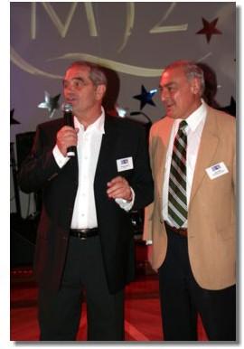 Georges Colson et Rémy Arca, 2 présidents heureux... deux de plus !