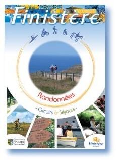 CDT Finistère : 1ère brochure ''Randonnée, circuits et séjours''