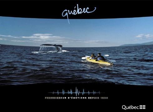 Le Québec dévoile sa campagne de communication