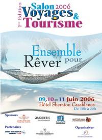 Casablanca : le 1er Salon Voyages & tourisme du 9 au 11 juin