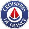 Le nouveau logo de Croisières de France présente des changements plutôt minimes par rapport au précédent - DR