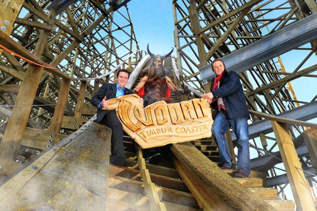 Le nouveau grand huit d'Europa Park ouvrira ses portes le 31 mars 2012 - Photo DR