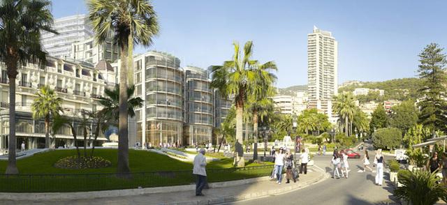 La SBM va édifier un vaste complexe avec résidences hôtelières de très grand luxe, centre commercial haut de gamme, bureaux, centre culturel et de séminaires avec un vaste parking souterrain de 500 places. - Photo DR
