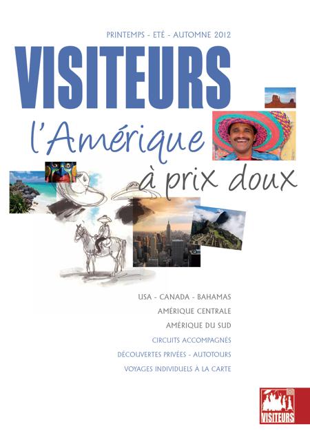 """La couverture de la brochure """"Amérique"""" de Visiteurs - DR"""