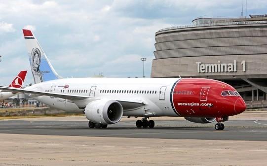 dreamliner-787-900, l'un des appareils de la flotte Norwegian, la plus jeune d'Europe / Crédit photo Norwegian Airlines