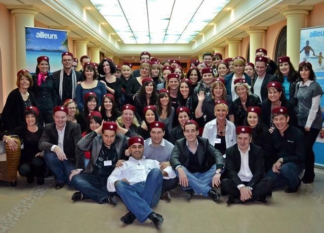 Yves Guillermin, le patron du groupe Ailleurs, a réuni le week-end dernier la quasi-totalité des chefs d'agence de son réseau de distribution en Tunisie pour décliner la stratégie du groupe pour 2012./ph.dr