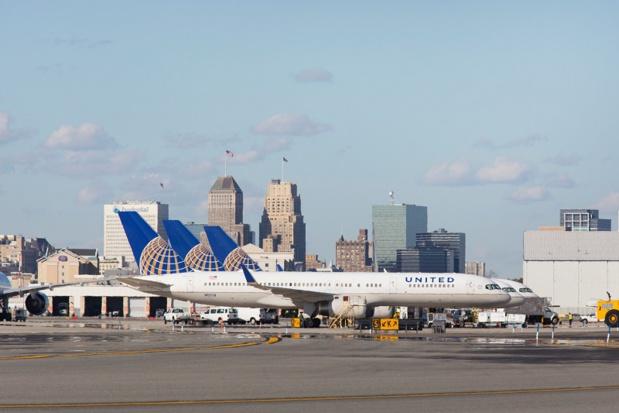 Nouveau vol quotidien saisonnier sans escale entre l'aéroport Nice Côte d'Azur et son hub à New York/Newark /crédit DepositPhoto