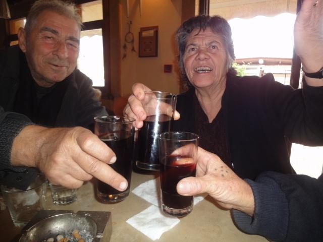 Chez Anna, on ne plaisante pas avec les verres à vin - Photo DR