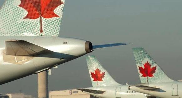 Avec ce rachat, le transporteur à la feuille d'érable s'arrogerait 50 à 60% des liaisons nationales à destination de l'Europe… - DR : Air Canada