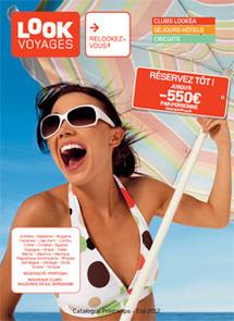 La brochure Printemps - été 2012 de Look Voyages - Photo DR