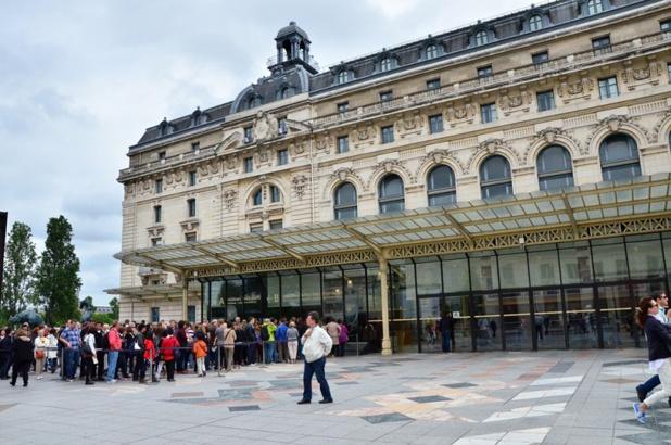 Le Musée d'Orsay a accueilli 1,8 million de visiteurs au premier semestre 2019, soit une progression de 18,8% de sa fréquentation. - Depositphotos