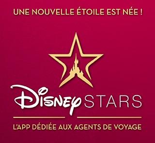 l'application Disney Stars met à disposition des agents de voyage des avantages Disney exclusifs - DR