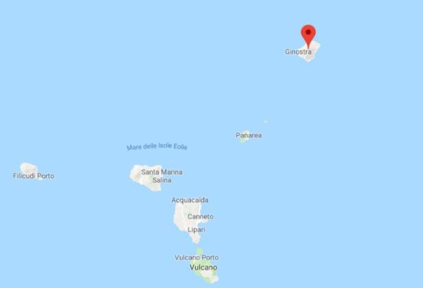 L'île volcanique de Stromboli, au large de la Sicile, a connu une nouvelle éruption le 28 août.  - DR