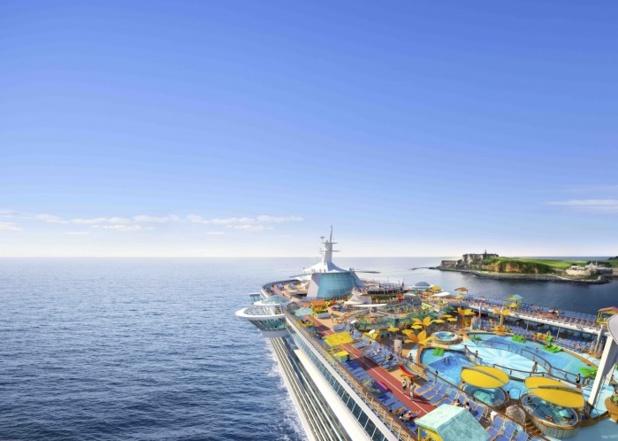 Le Freedom of the Seas reprendra la mer dès le 8 mars 2020 dans les îles au sud des Caraïbes - DR : RCI