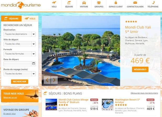Mondial Tourisme est spécialisé sur la Turquie, la Tunisie, l'Egypte et Rhodes - DR : Capture d'écran Mondial Tourisme
