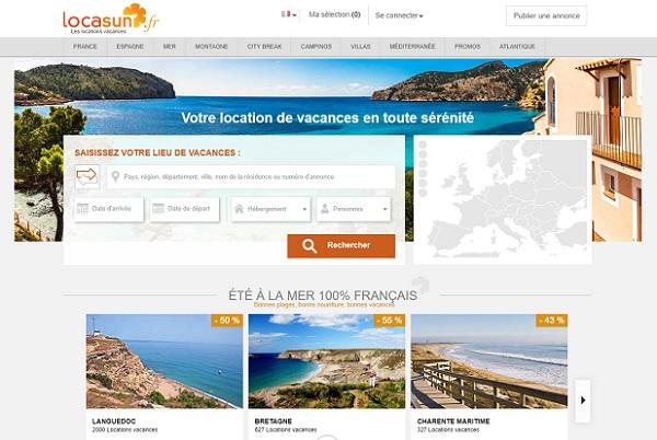 Locasun  vient d'établir son baromètre basé sur les 21 811 réservations de locations de vacances effectuées sur le site entre le 1er janvier et le 10 août 2019 - Crédit photo : Locasun