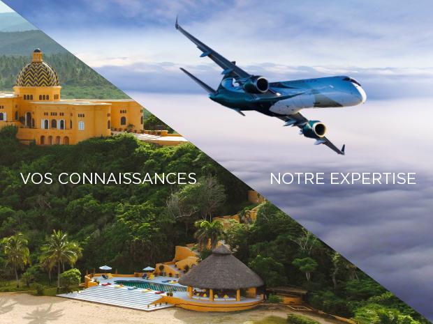 Air Charter Service, le choix des professionnels du tourisme. ©ACS / 2019 CUIXMALA