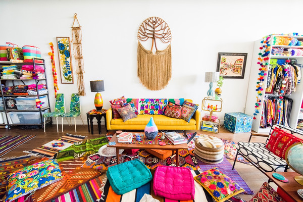 Source : Colorful Zen boho-chic loft, d'Amy sur Airbnb.com