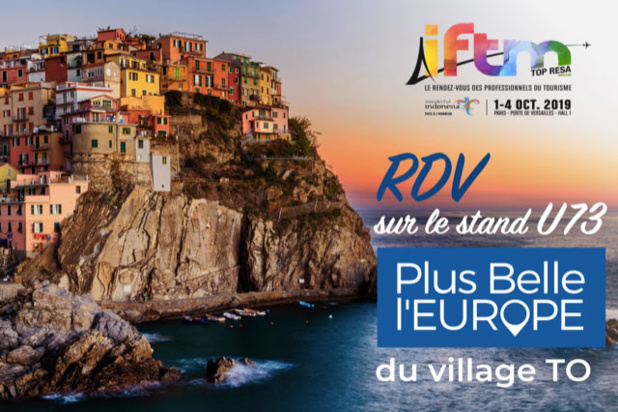 PLUS BELLE L'EUROPE lance son Sur-Mesure (Stand U73, village TO)