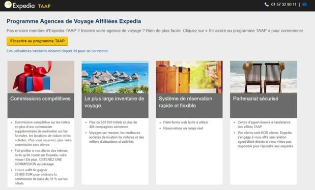 Avec Expedia TAAP, les agents de voyages accèdent à plus de 600 000 hébergements - Crédit photo : Expedia TAAP