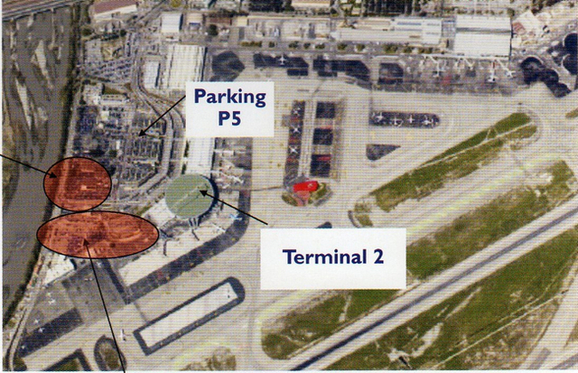 """Le nouveau terminal """"Middle-Cost"""" pourra accueillir jusqu'à 4 millions de passagers - Photo DR"""